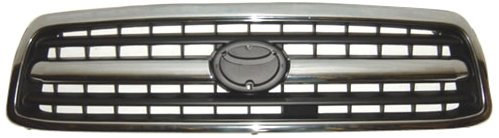 OE Replacement Toyota Tundra Pickup Grille Assembly (Partslink Number TO1200223)