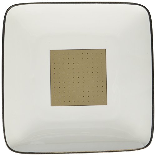 [Noritake Cameroon Sand Square Accent Plate] (Cameroon Sand Accent)