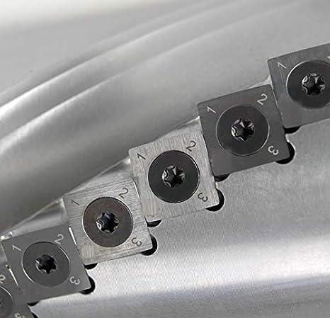 Silent POWER Planer knives 10 pc 13.8 x 13.8 x 2.5mm Felder R150