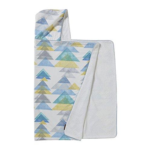 DwellStudio baby/toddler hooded bath towel, Triangles