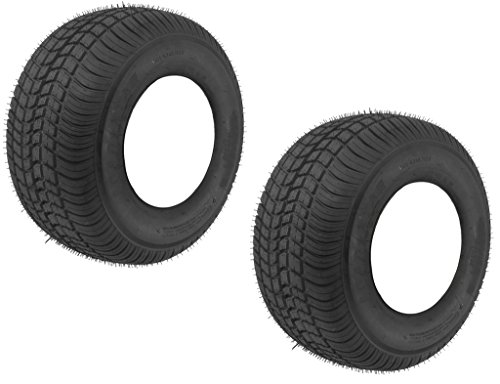 High Speed Trailer Tire - 2-Pack High Speed Trailer Tires 18.5x8.5-8 18.5 x 8.5-8 Load C Bias 6 Ply D.O.T.