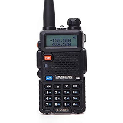 XMZWD Amateur Radio Portable Walkie Talkie VHF UHF Radio Dual Band Two Way Radio Radio  With Led Display 128 Memory Channel  For Construction Site Hotel Outdoor Adventure