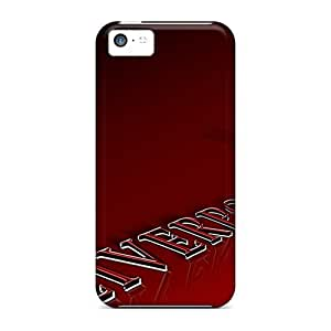 New EWE256rBbB Fc Liverpool Tpu Cover Case For Iphone 5c