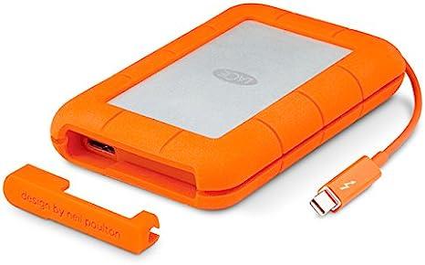 LaCie Rugged Mini - Disco Duro portátil SSD para Mac y PC, 500 GB ...