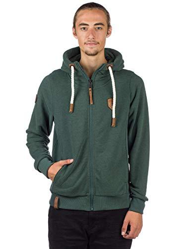 jungle melange Zipped Male Naketano Birol Jacket green nOxq0x1Iw