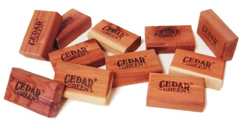 Cedar Green C316 Aromatic Cedar Blocks, 36-Piece