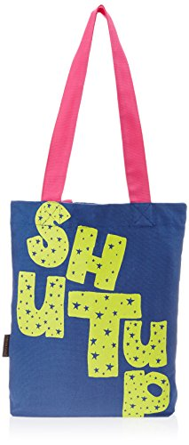 Kanvas Katha Tote Bag (Navy Blue) (KKB004NB)