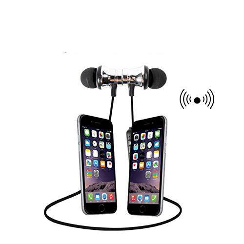 Android MP3 et ainsi de suite Dewanxin Ears Ear Casque Oreillette /Écouteurs Bluetooth Ear Bass Magn/étique Ecouteurs Ecouteurs Bluetooth Ecouteurs Sans Fil pour Sport pour iPhone