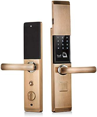Biométrico Bloqueo De Huellas Dactilares Bluetooth Cerraduras ...