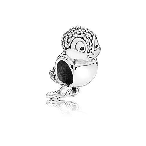 Pandora Disney Snow White Bird Sterling Silver Charm 797166CZ