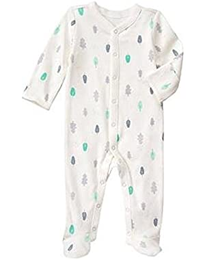 Baby Dove Grey Forest Forest 1-Piece by Gymboree