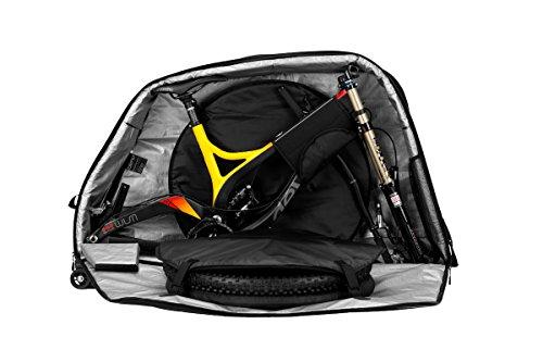 Biknd Jetpack Fahrradtasche, Schwarz, 70 x 24 x 70 cm, 118 L
