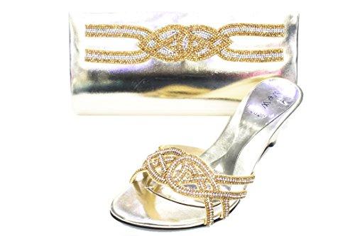 pour femme UK 37 Walk Sandales amp; Doré Wear nZSUqgw