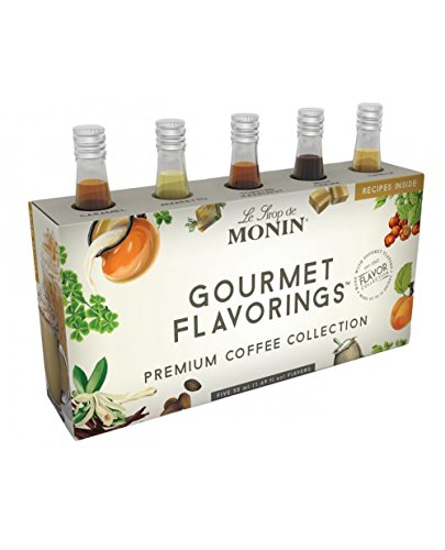 - Monin Gourmet Flavorings Premium Coffee Collection