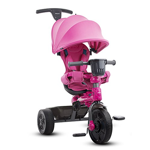 JOOVY Tricycoo 4.1 Tricycle, Pink Plastic Tricycle