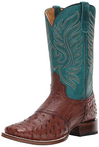 Saddle Womens Roper - Roper Women's Sami Saddle Vamp Western Boot, Brown, 7.5 D US