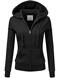 Lightweight Thin Zip-Up Hoodie Jacket For Women With Plus...