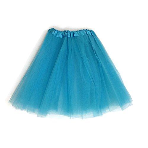 [Rush Dance Women's EXTRA PLUS SIZE XXL Costume Ballet Warrior Dash Run Tutu (Extra Plus, Turquoise)] (Plus Size Ballerina Costumes)