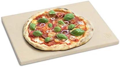Pizza Stein für Backofen Grill aus Cordierit Pizzastein Ofen Brot Flammkuchen