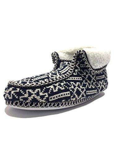 Chaussons Boot Nordic Comfootwear Marine Bleu femme waxZxEqT