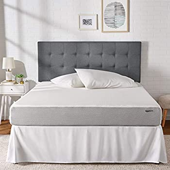 AmazonBasics Memory Foam Mattress - 8-Inch, King Size - Soft Bed, Plush Feel, CertiPUR-US Certified, Breathable, Easy Set-Up