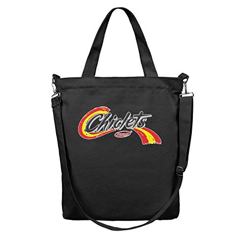 (Chiclets-logo Women Canvas Tote Bag Shoulder Beach Bags Spacious)