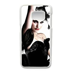 Generic Fashion Hard Back Case Cover Fit for Samsung Galaxy S7 Cell Phone Case white Black Swan with Free Tempered Glass Screen Protector TUB-1563069