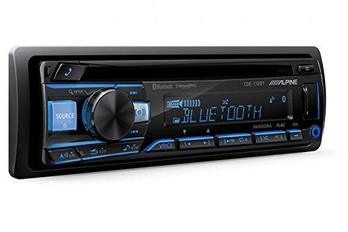 Alpine CDE-172BT CD Receiver with Bluetooth & PAC Audio SWI-CP2 Steering Wheel Control Interface