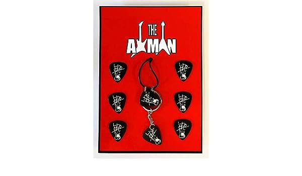 Axman Lemmy Kilmister (Motörhead) - Colgante, Llavero y 6 ...