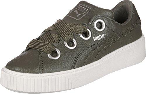 Puma Platform Kiss Lea W Schuhe Oliv