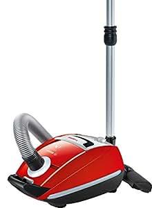 Bosch BSGL5ZOO2 - Aspiradora, 1200 W, eficiencia energética C, color rojo