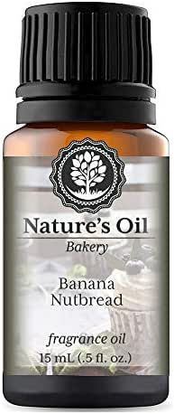 Banana Nutbread Fragrance Oil (15ml) For Diffusers, Soap Making, Candles, Lotion, Home Scents, Linen Spray, Bath Bombs, Slime