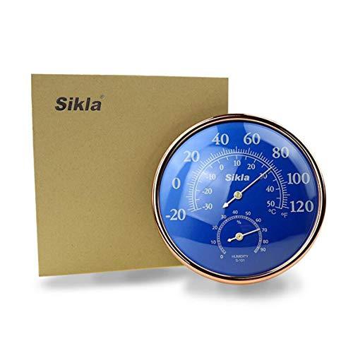 Tivolii 3 en 1 funciones mecánico altímetro termómetro barómetro equipo con mosquetón herramienta al aire libre para...