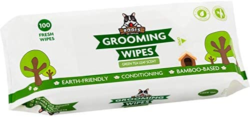 Pogi's Grooming Wipes – Hypoallergenic Pet Wipes for Dogs & Cats – Plant-Based, Earth-Friendly, Deodorizing Dog Wipes