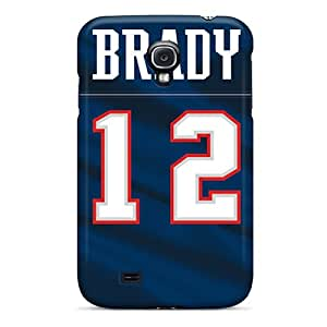 Excellent Design New England Patriots Phone Cases For Galaxy S4 Premium Tpu Cases