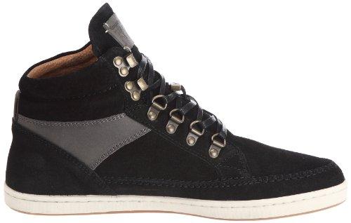 Kangaroos Sovereign - Zapatillas de Deporte de cuero Hombre negro - Noir (Black/Charcoal)