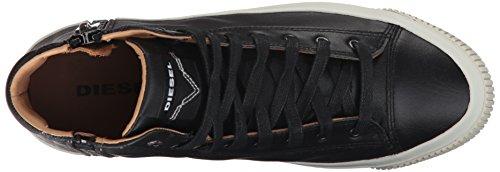 Diesel Heren Zip-turf S-voyage Sneaker Zwart