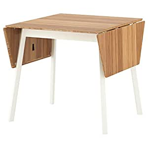 Amazon.com: IKEA PS 2012, mesa con hojas de gota, bambú ...