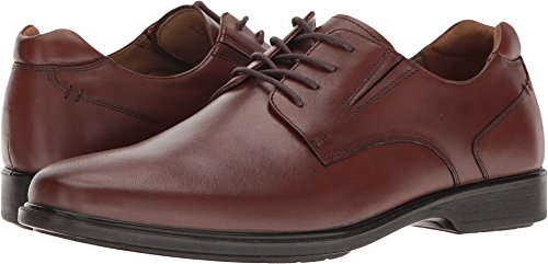 Hush Puppies Men's Echo Workday Oxford, Tan Wp Leather, 9 M US