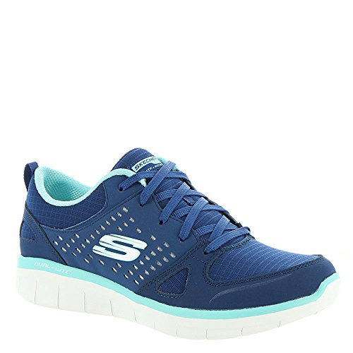Skechers Sport Synergy 2.0-rising Star Womens Sneaker Blu Scuro