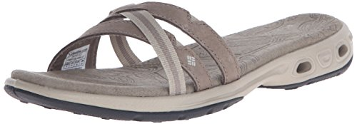 Columbia Womens Inagua Vent Glisser Sandale Galet / Pierre Ponce