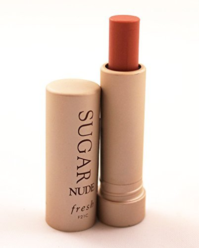 Sugar Fresh Lip Treatment Tinted Nude Sunscreen Spf 15 .07 Ounce Unboxed Mini Travel Size