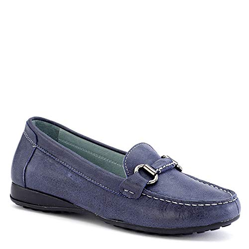On Tate Women's Sable Slip David Navy Tumbled Calf qpwfx