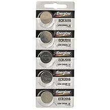 Energizer- Cr2016 Lithium Battery, 5-Pk