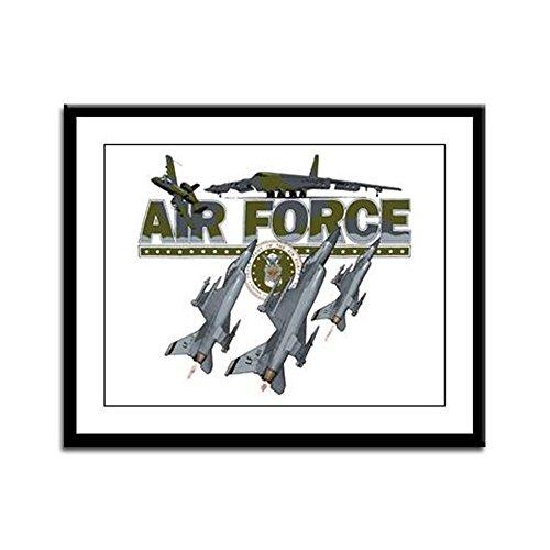 Framed Panel Print US Air Force Planes Fighter Jets