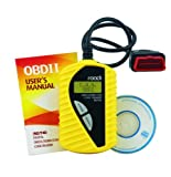 Roadi RDT40 Diagnostic Trouble Code Reader for Universal Brands of OBD2 Vehicles