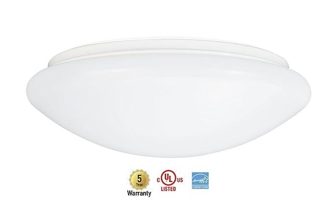Amazon asd led flush mount ceiling light fixture 10 inch 13w asd led flush mount ceiling light fixture 10 inch 13w commercial grade dimmable 4000k aloadofball Choice Image