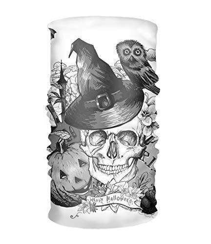 Halloween Skull Headwear Bandanas Seamless Headscarf Outdoor Sport Headdress Running Riding Skiing Hiking Headbands -