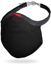 Máscara Fiber Knit Sport + Filtro de Proteção + Suporte (Preta, G)
