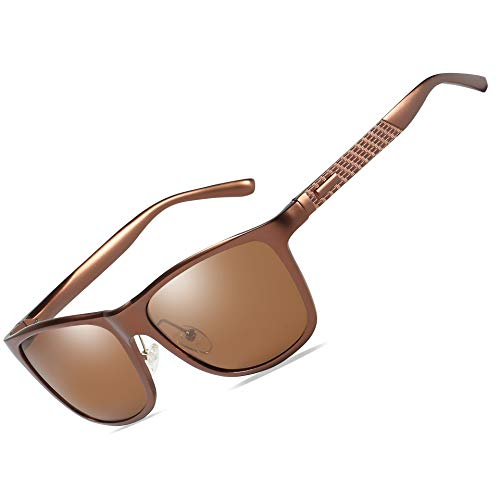 4ed901bd755e4 Bircen Mens Polarized Sunglasses UV Protection Fishing Driving Sunglasses  for Men Women